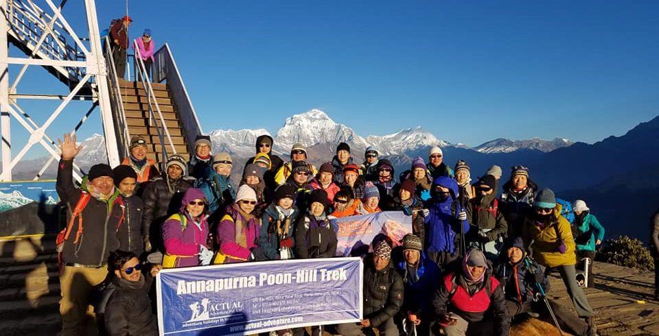 poonhill group trekking