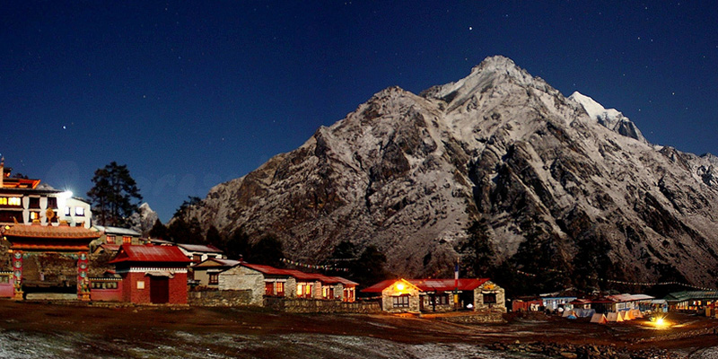 Local Lodge in Everest region